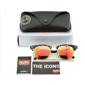 Ray-Ban Accessories - NWT Ray-Ban CLUBMASTER FLASH LENSES